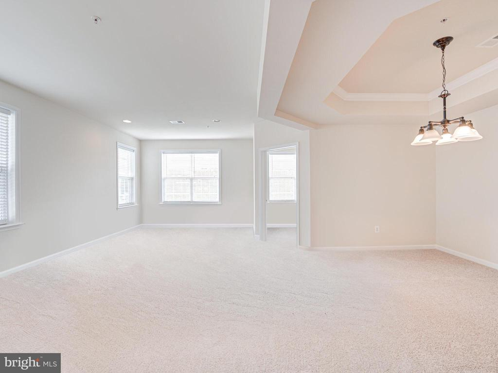 Brand new carpet throughout! - 43610 HAMPSHIRE CROSSING SQ #AD-205, LEESBURG
