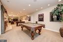 Recreation Room | Game Room - 10901 TOMPKINS WAY, WOODSTOCK