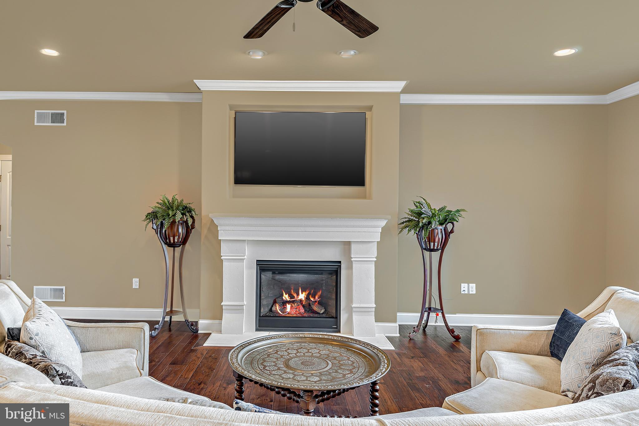 Magnificent Gas Fireplace