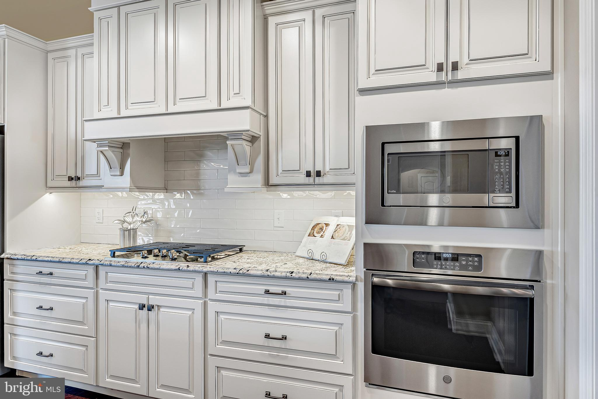 Custom Cabinetry built in oven and microwave