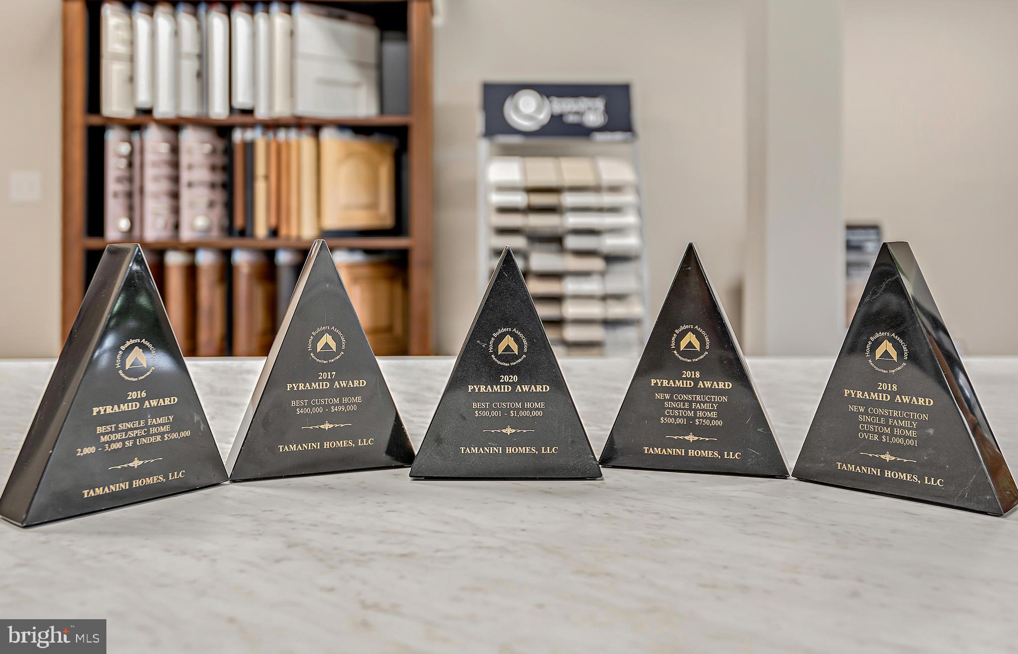 Tamanini Homes Award Winning Designs