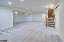 finished basement with  Mother in-law suite! - 4525 MOSSER MILL CT, WOODBRIDGE