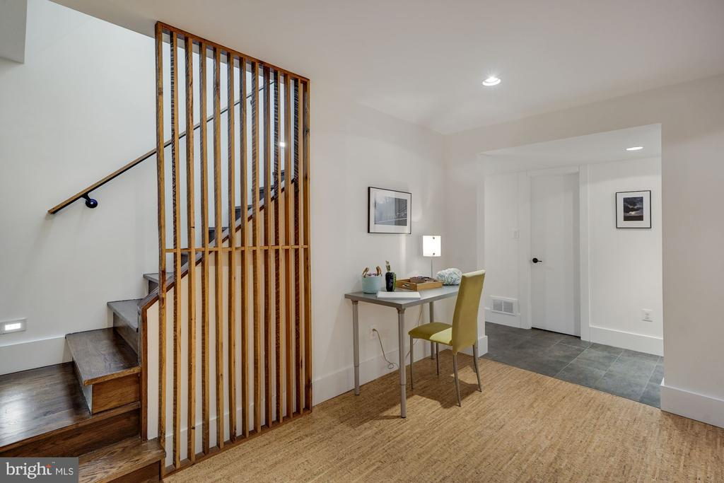 Lower Level Staircase - 6649 VAN WINKLE DR, FALLS CHURCH