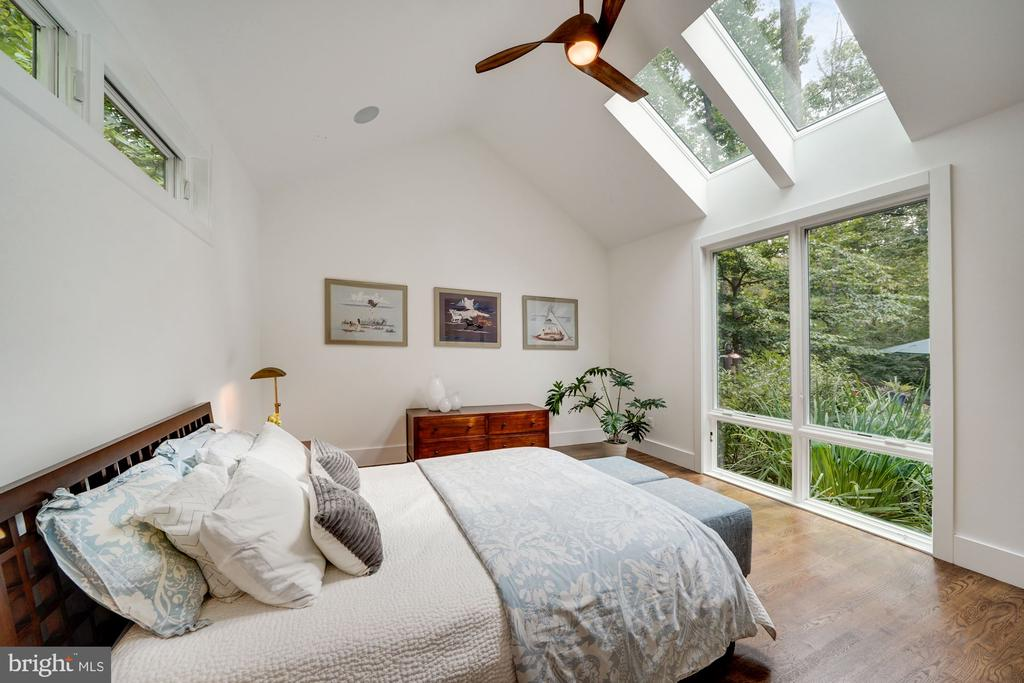 Main Level Primary Bedroom with Sky Lights 2 - 6649 VAN WINKLE DR, FALLS CHURCH