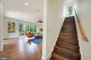 Staircase to Second Suite - 6649 VAN WINKLE DR, FALLS CHURCH