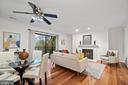 Living Room and Dining Room - 1234 N QUINN ST #1234, ARLINGTON