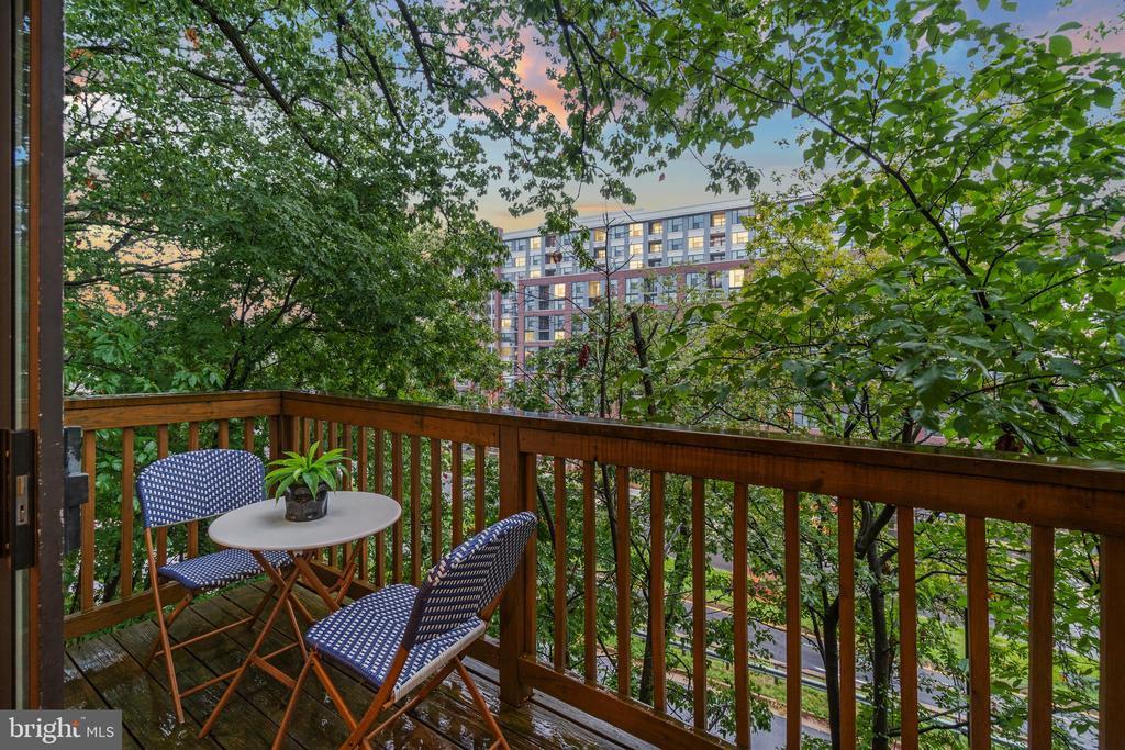 Main level outdoor space - 1234 N QUINN ST #1234, ARLINGTON
