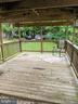 Side Covered Deck - 11291 PINE HILL RD, KING GEORGE