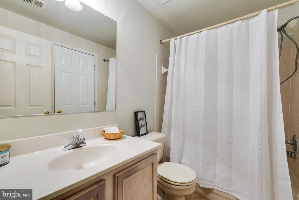 Lower Level Full Bathroom - 7617 STRATFIELD LN, LAUREL
