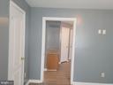 Living Room doorway to Kitchen - 208 MAYFIELD AVE, FREDERICKSBURG