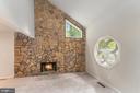 Wood Burning Fireplace w/Stone Surround - 107 NINA CV, STAFFORD