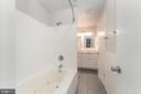 Primary Bath has Jetted Tub/Shower & Tile Floors - 107 NINA CV, STAFFORD