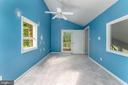BR4 w/Vaulted Ceiling & Door to Private Deck - 107 NINA CV, STAFFORD