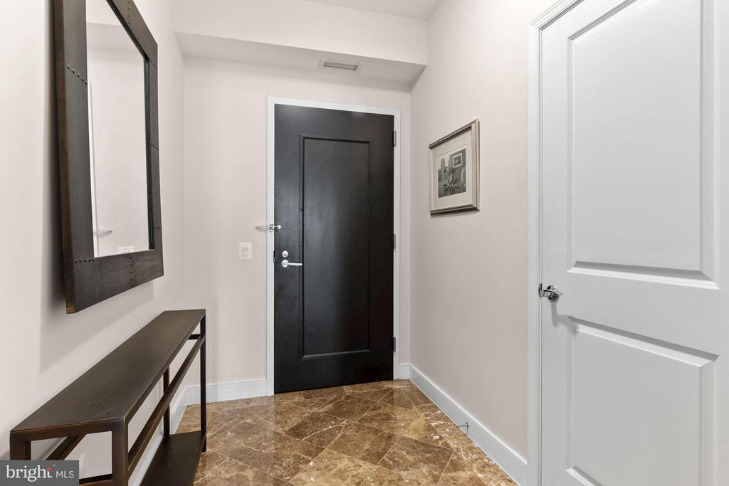 Foyer - 7710 WOODMONT AVE #1102, BETHESDA