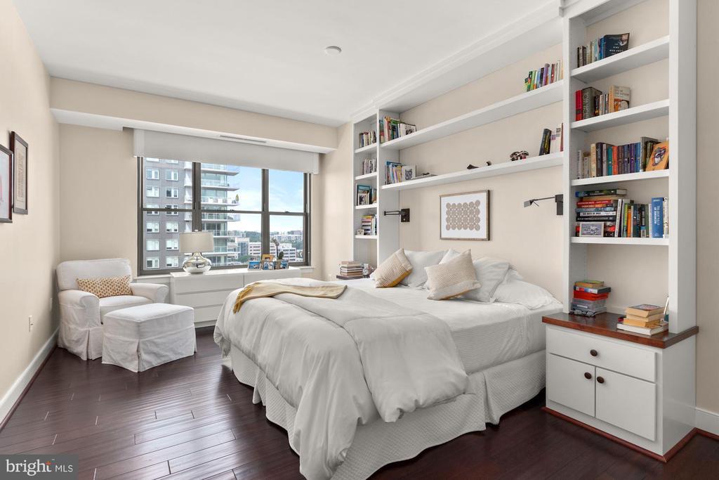 Primary Bedroom - 7710 WOODMONT AVE #1102, BETHESDA