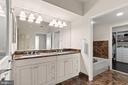 Primary Bathroom - 7710 WOODMONT AVE #1102, BETHESDA