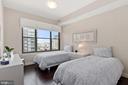 Bedroom 2 - 7710 WOODMONT AVE #1102, BETHESDA