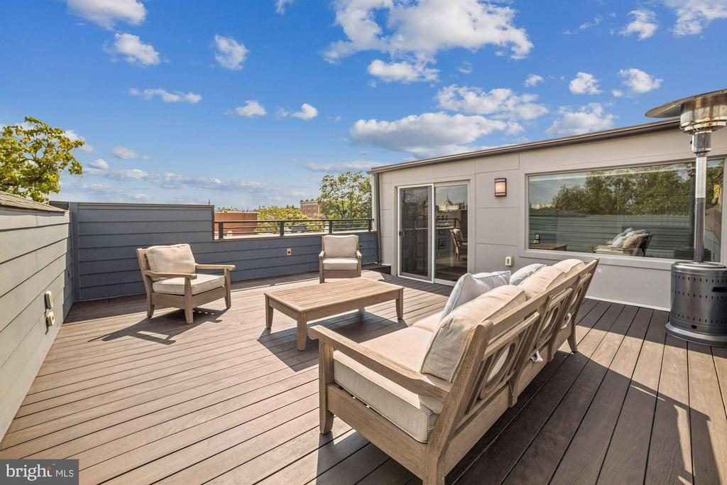 Private Rooftop w/MonumentView,AccentLighting,Hose - 1918 11TH ST NW #B, WASHINGTON