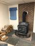 Woodstove in lower level - 4 DONALDS LN, MOUNT AIRY