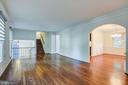 Living Room Upper 1 Level - 14136 CRICKET LN, SILVER SPRING