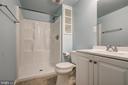 3rd Bathroom Lower Level - 14136 CRICKET LN, SILVER SPRING