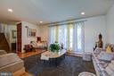 Main Level/Living Room - 12521 SUMMERWOOD DR, SILVER SPRING