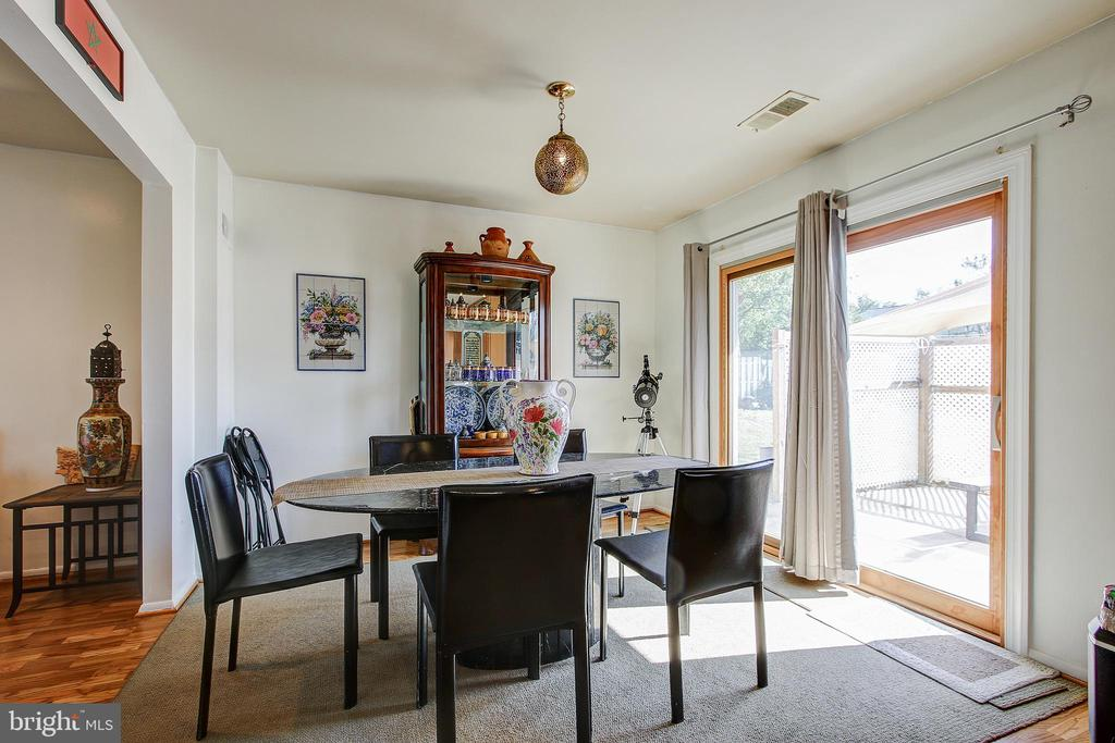 Main Level/Dining - 12521 SUMMERWOOD DR, SILVER SPRING