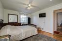 Upper Level/Main Bedroom - 12521 SUMMERWOOD DR, SILVER SPRING