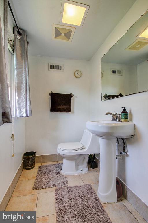 Lower/Level Half Bath - 12521 SUMMERWOOD DR, SILVER SPRING