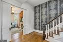 Gracious Entry and Staircase/Pocket Doors - 402 U ST NW, WASHINGTON