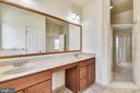 Primary bath - 23542 HOPEWELL MANOR TER, ASHBURN