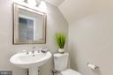 Completely Updated 1/2 Bath off the Living Room - 1967 KENNEDY #1967, MCLEAN