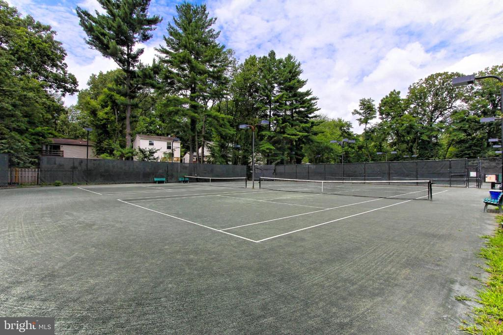 Enjoy tennis on nearby courts - 11704 NEWBRIDGE CT, RESTON