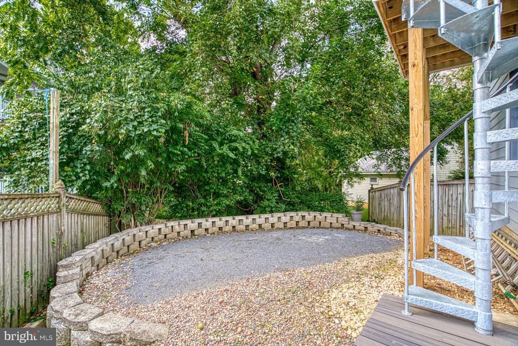 Spot for an outdoor spa... - 2020 N ROOSEVELT ST, ARLINGTON