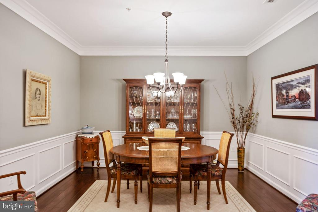 Formal Dining Room - Truly a Separate Dining Room! - 20505 LITTLE CREEK TER #302, ASHBURN