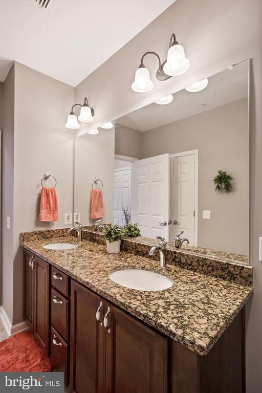 Primary Bathroom - Extra Wide Dual Sink Vanity! - 20505 LITTLE CREEK TER #302, ASHBURN