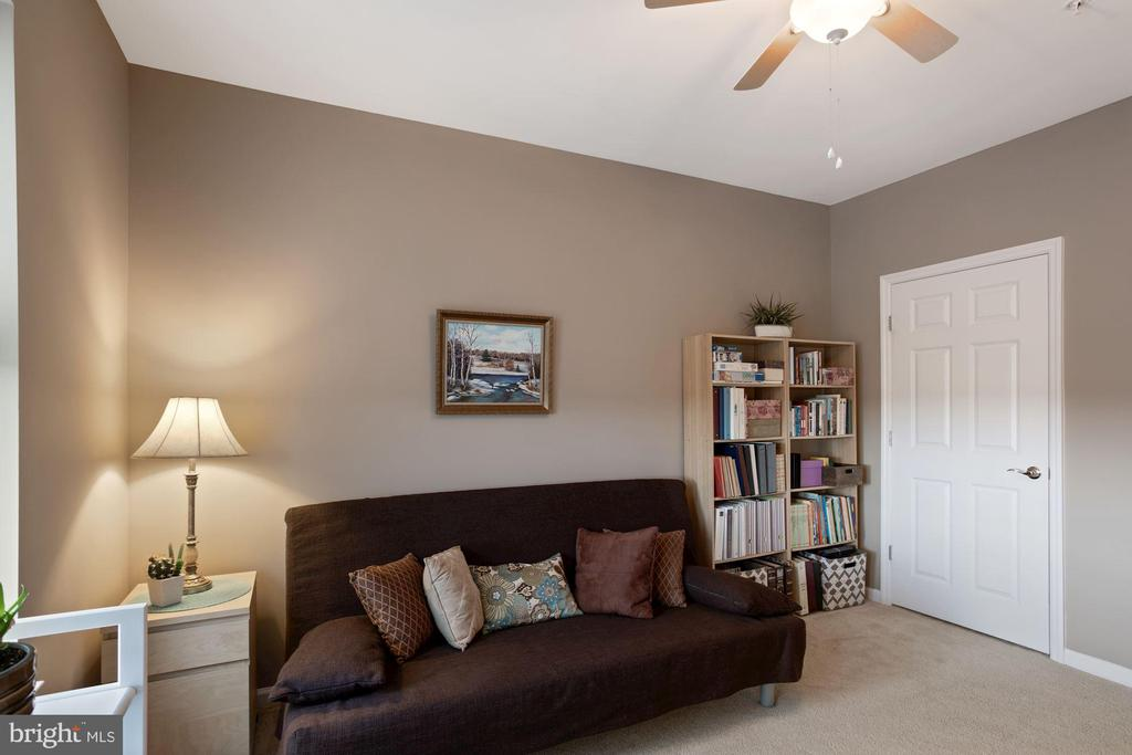 Bedroom #2 - Ceiling Fan & Overhead Lighting! - 20505 LITTLE CREEK TER #302, ASHBURN
