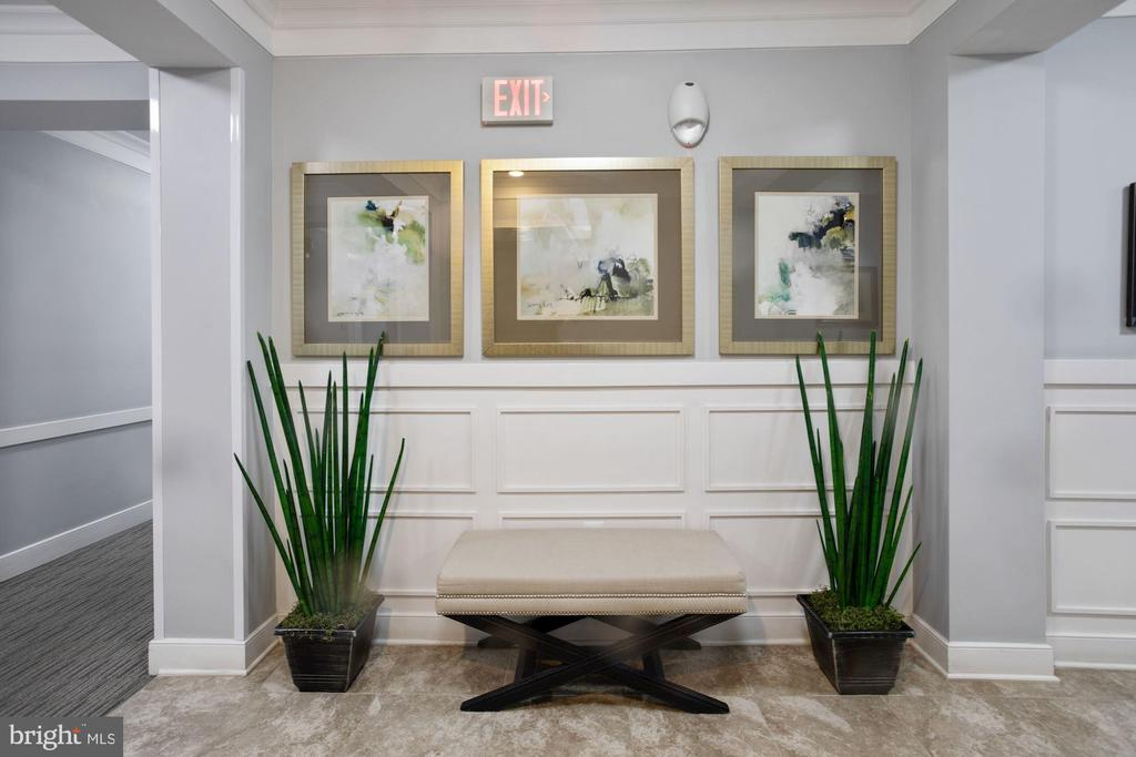Lobby of Condominium - Very Welcoming! - 20505 LITTLE CREEK TER #302, ASHBURN