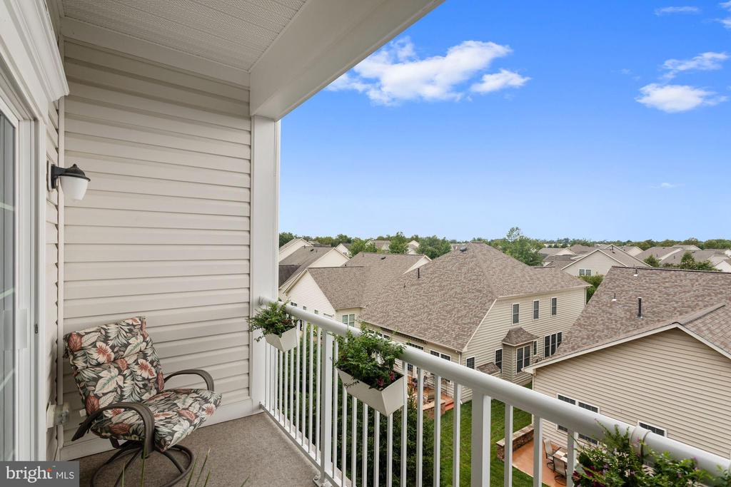 Balcony - Nearly 60 Sq. Ft. to Relax or Entertain! - 20505 LITTLE CREEK TER #302, ASHBURN