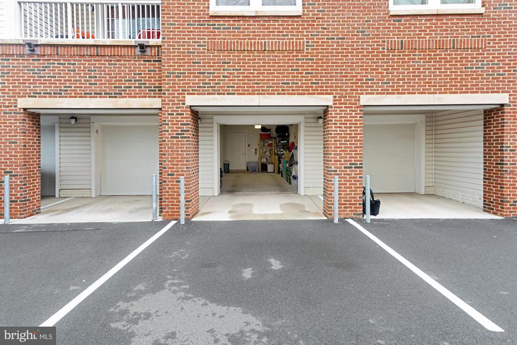 1 Garage Pkg Spot + 1 Driveway Spot = 2 Pkg Spaces - 20505 LITTLE CREEK TER #302, ASHBURN
