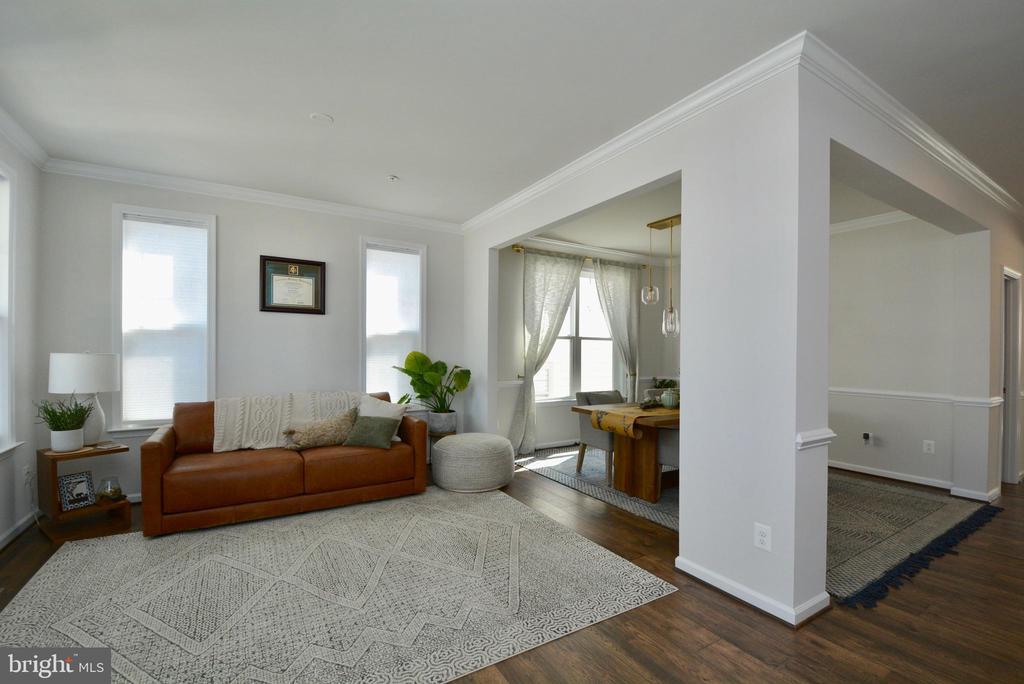 Front Room/Formal Living Room - 2713 COCKSPUR LN, DUMFRIES