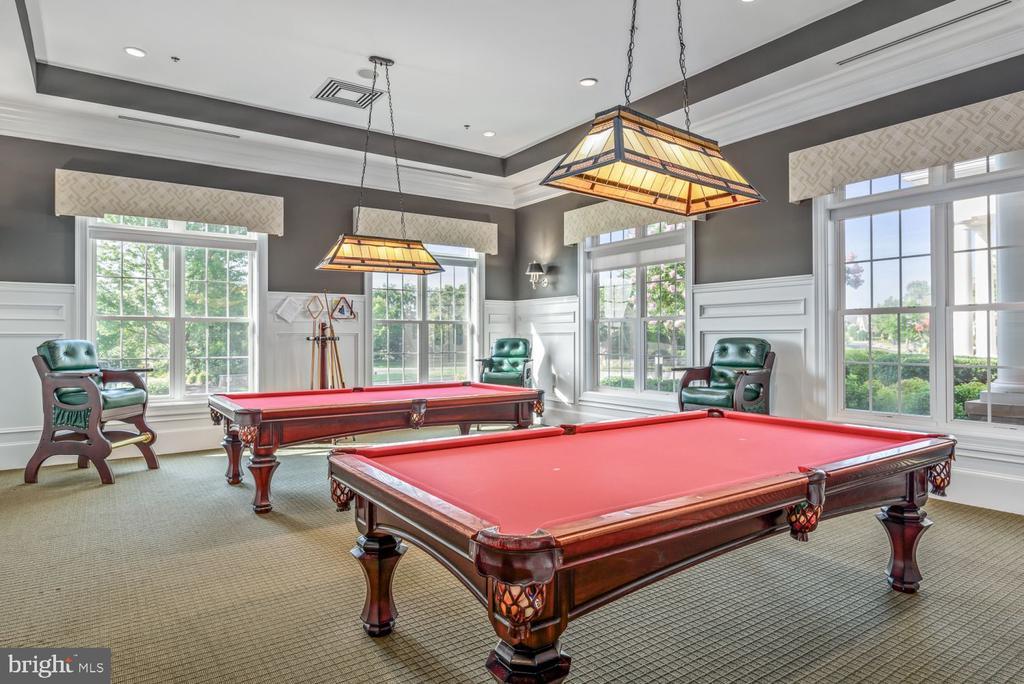 The Billiards Room is Always a Fun Time! - 20505 LITTLE CREEK TER #302, ASHBURN