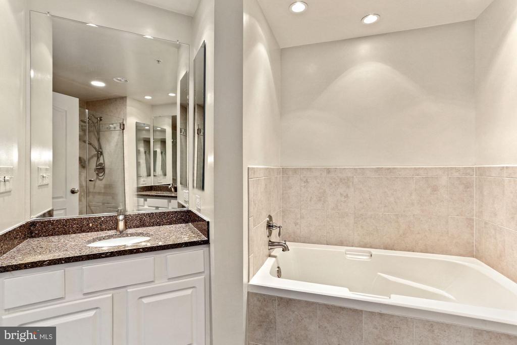 Double Vanities and Soaking Tub - 901 N MONROE ST #601, ARLINGTON