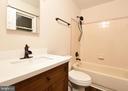Primary Full Bath - 10635 PINEY BRANCH RD, SPOTSYLVANIA