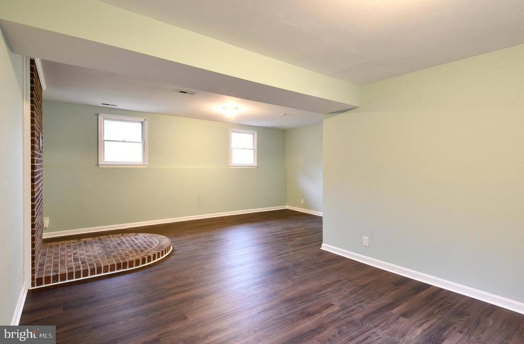Downstairs Family Room - 10635 PINEY BRANCH RD, SPOTSYLVANIA