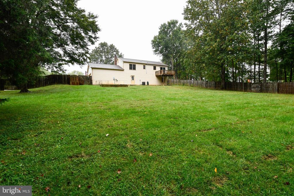 Backyard - 10635 PINEY BRANCH RD, SPOTSYLVANIA