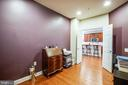 Flex room w/double door entry - use as you wish! - 238 LONG POINT DR, FREDERICKSBURG