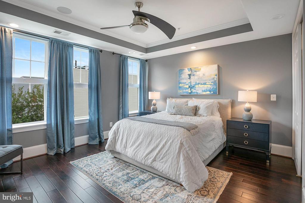 Bright Primary Bedroom - 1609 LEVIS ST NE, WASHINGTON