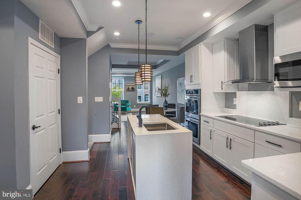 Spacious Kitchen - 1609 LEVIS ST NE, WASHINGTON