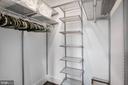 Walk-In Closet - 1609 LEVIS ST NE, WASHINGTON